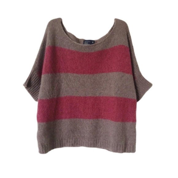 American Eagle Outfitters Sweaters - AEO   Striped Wool Blend Sweater
